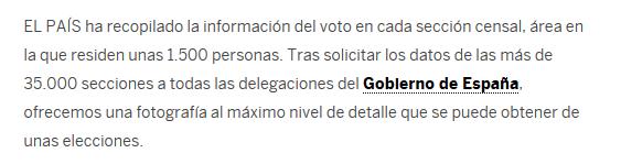 Método obtención Datos Distribución de Votos